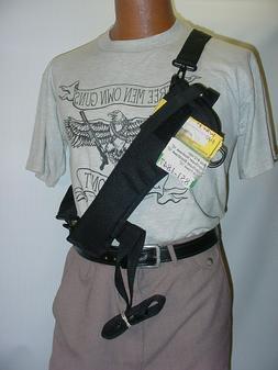 """10"""" Revolver NON Scoped  Bandoleer-Shoulder-Belt Holster Wit"""