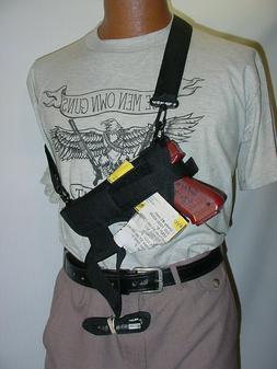 """4"""" to 5"""" Large-Medium AUTO  Bandoleer-Shoulder-Belt Holster"""