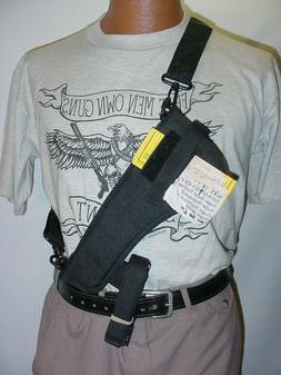 """8"""" Revolver NON Scoped  Bandoleer-Shoulder-Belt Holster With"""