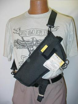 """8"""" Revolver Scoped Bandoleer-Shoulder-Belt Holster With It's"""