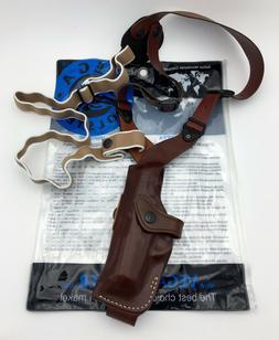 Vega AA124 Leather Shoulder & Belt Holster, GLOCK 26  27  33