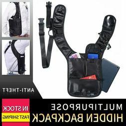 Anti-theft Hidden Shoulder Holster Wallet Underarm Backpack