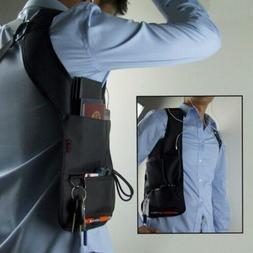 Anti-Theft Hidden Underarm Travel Bag Phone Holster Black Ny