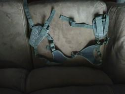 NcStar BLACK Ambidextrous Pistol Shoulder Holster w/ Double