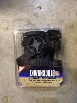 blackhawk shoulder harness w platform for serpa