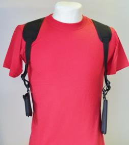 """Cell Phone Shoulder Holster Fits Phones 5"""" Tall x 3"""" Wide -"""