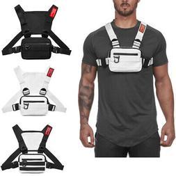Chest Rig Harness Bag Unisex Holster Vest Pack Crossbody Sho