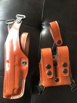 Colt 1911 4.25 '' MASC Vertical Leather Shoulder Holster