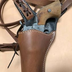 "Colt SAA,Ruger Vaquero,Blackhawk 43/4"" Huckleberry Leather"