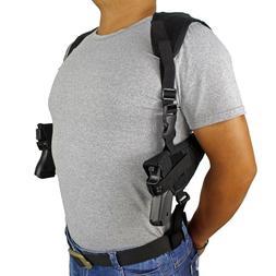 Concealed Carry Double Draw Shoulder Gun Holster Adjustable
