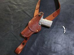 D063 Basketweave Shoulder Holster Colt 1911 & Similar Pistol