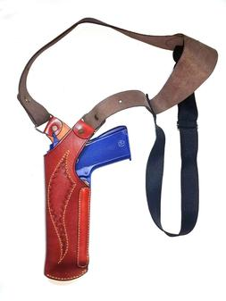 Fits All 9  mm barrel Leather Sport Holster