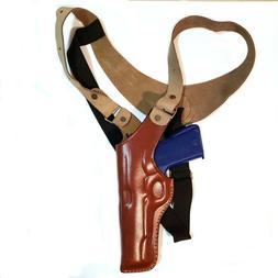 fits for colt 1911 leather vertical shoulder
