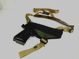 Perfect Stitch Horizontal Gun Shoulder Holster for Full Size