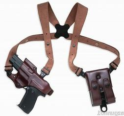 Galco Jackass Rig Shoulder Holster, R.Hand Havana HK 9/40 Co