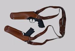 K448-92 2 Gun Vertical Shoulder Holster Fits Beretta Taurus
