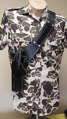 .22 auto pistol Hunting Shoulder Holster