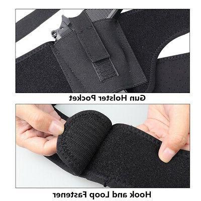 45 inch Right Deep Concealment Shoulder Holster Universal Underarm Holster