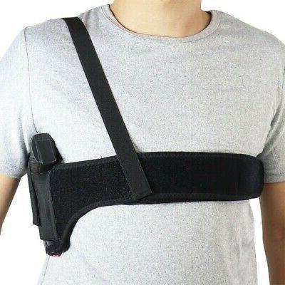 45 inch Hand Deep Concealment Shoulder Holster Universal Holster