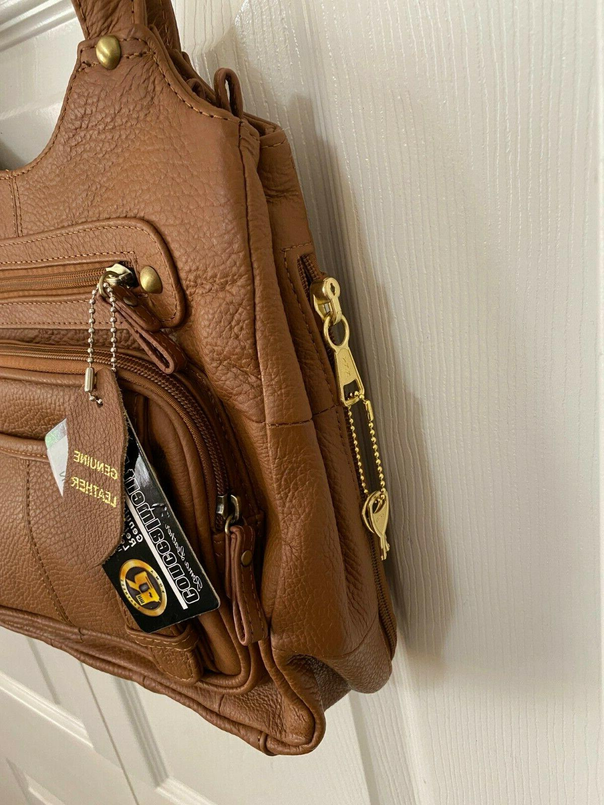 Roma Leathers RIGHT or LEFT Lock/Key Carry Shoulder
