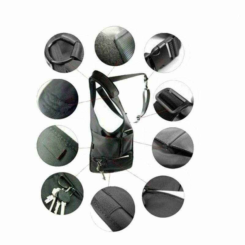 Anti-Theft Hidden Bag Phone Black Nylon