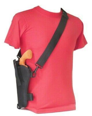 bandolier shoulder holster for 6 revolver fits