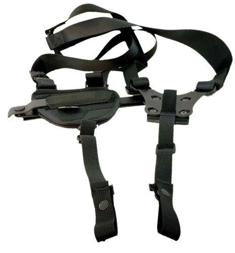 blackhawk horizontal shoulder holster 40hs16bkmd medium