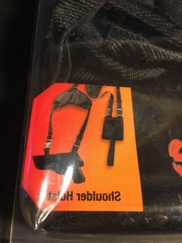 Bulldog WSHD-2 Shoulder Holster w/Dual Pouch-Revolver