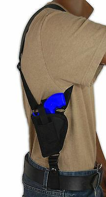 Barsony Gun Concealment Vertical Shoulder Holster for Taurus