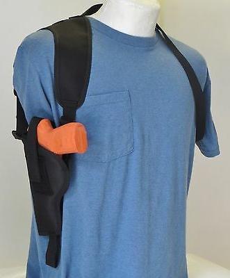vertical carry shoulder holster