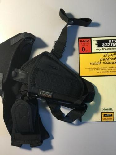horizontal pak shoulder holster