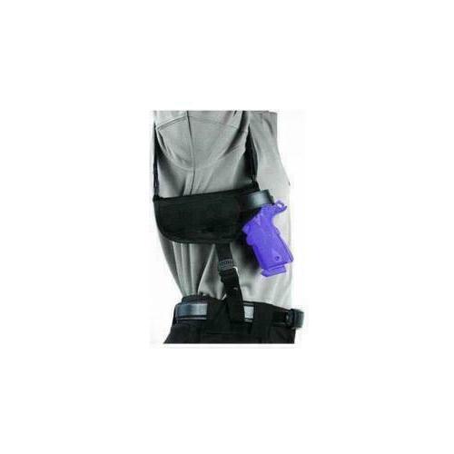 horizontal shoulder holster large ambidextrous4in 40hs02bk l