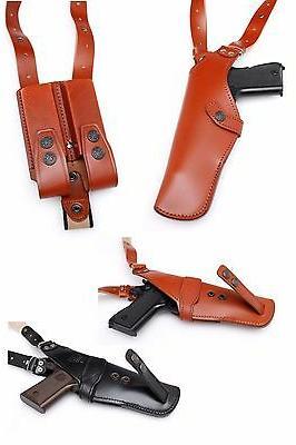 Leather CZ 75, BERETTA 92, SR9, S&W, 9mm /40 auto