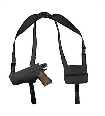 nylon concealment shoulder holster black