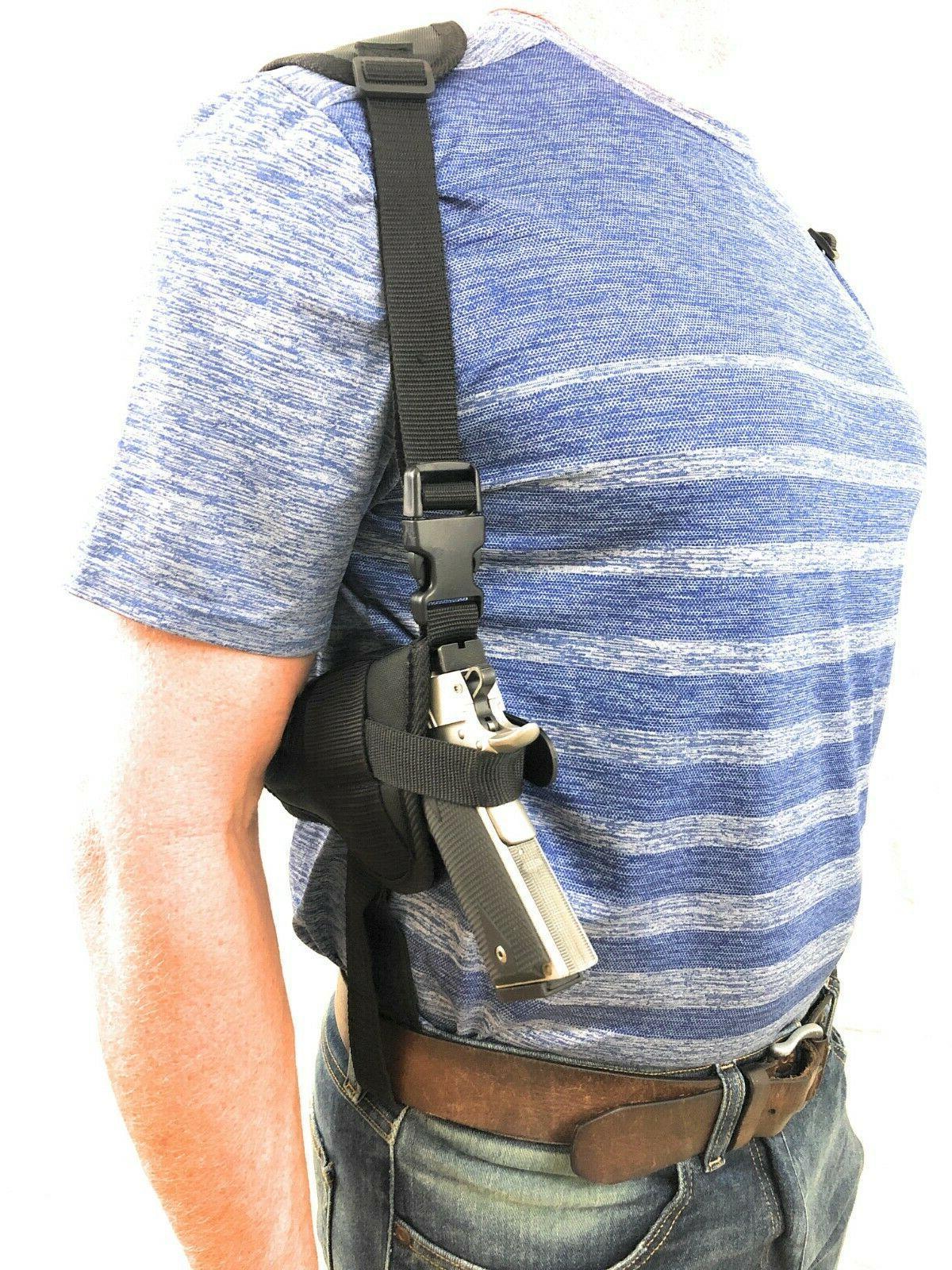 gun shoulder holster rig fits smith