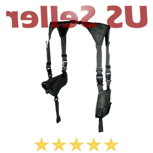 Leapers PVC-H170B UTG Black Horizontal Shoulder Holster For