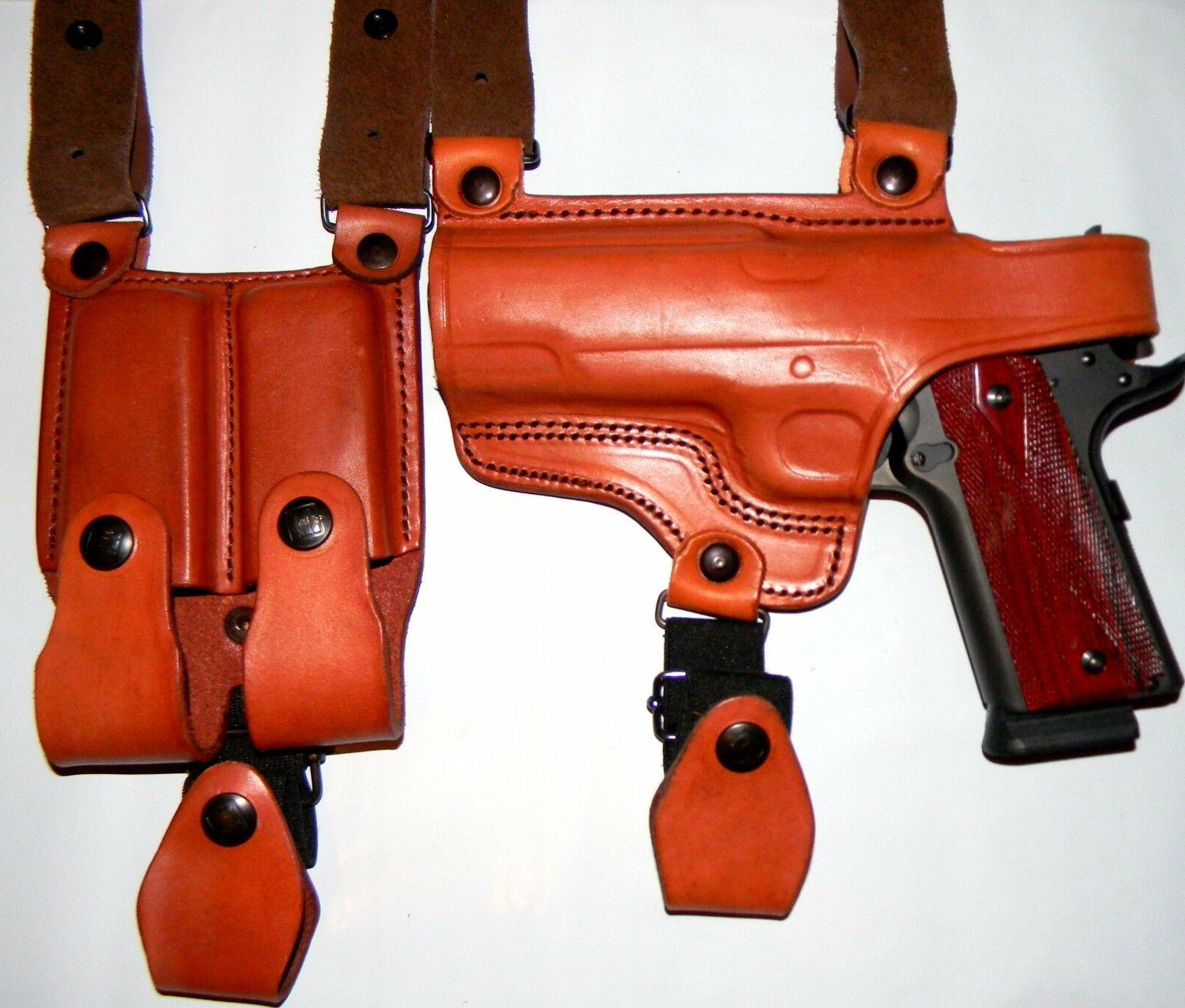 TAGUA Leather BLACK $147 CHOOSE Gun Color