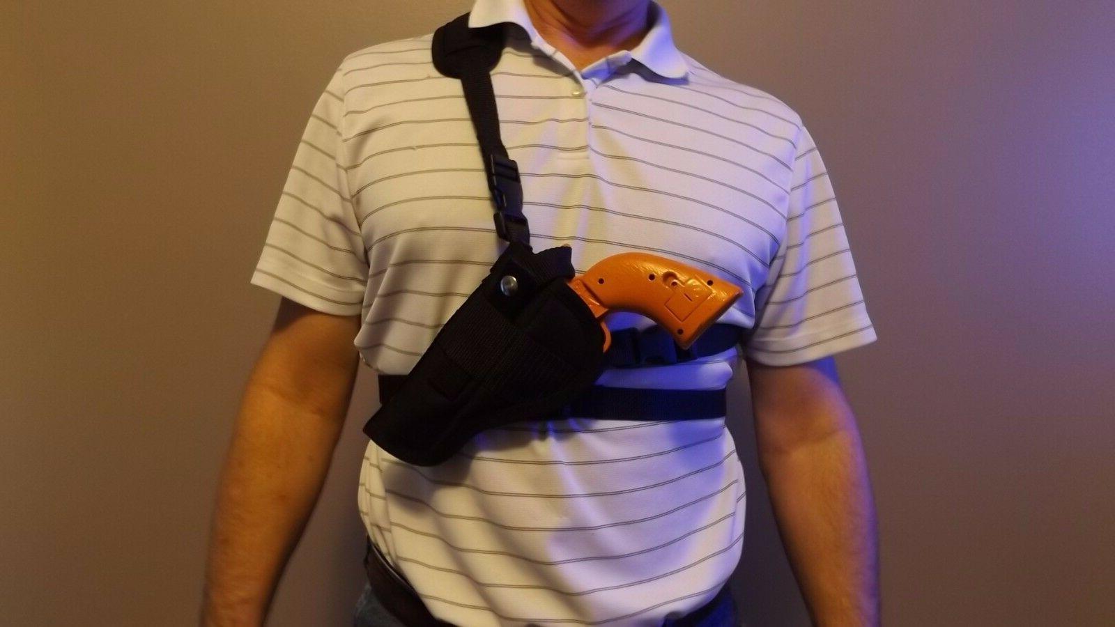 right left chest shoulder holster ruger super