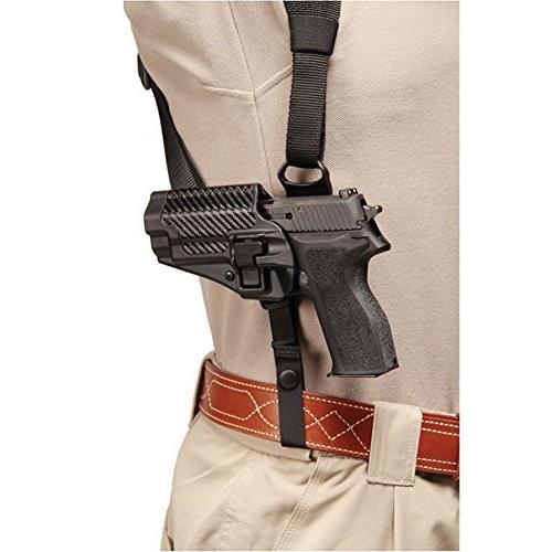 BLACKHAWK! Shoulder Harness SERPA Holster Right Handed, Large,