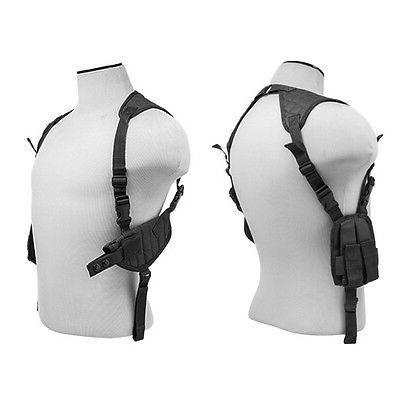 shoulder holster black color magazine pouches fits