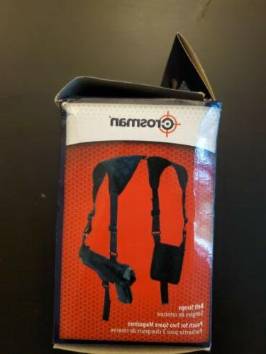 Crosman Holster. MOST SIZED airguns w/mag pouch.