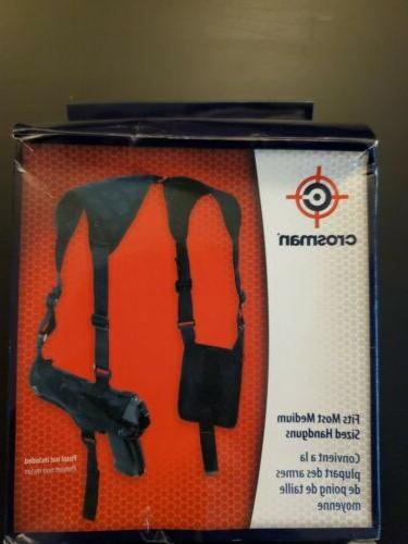 shoulder holster fits most medium sized airguns