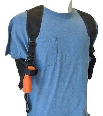 SHOULDER HOLSTER with Double Mag Pouch FOR BERETTA 92, 96 &