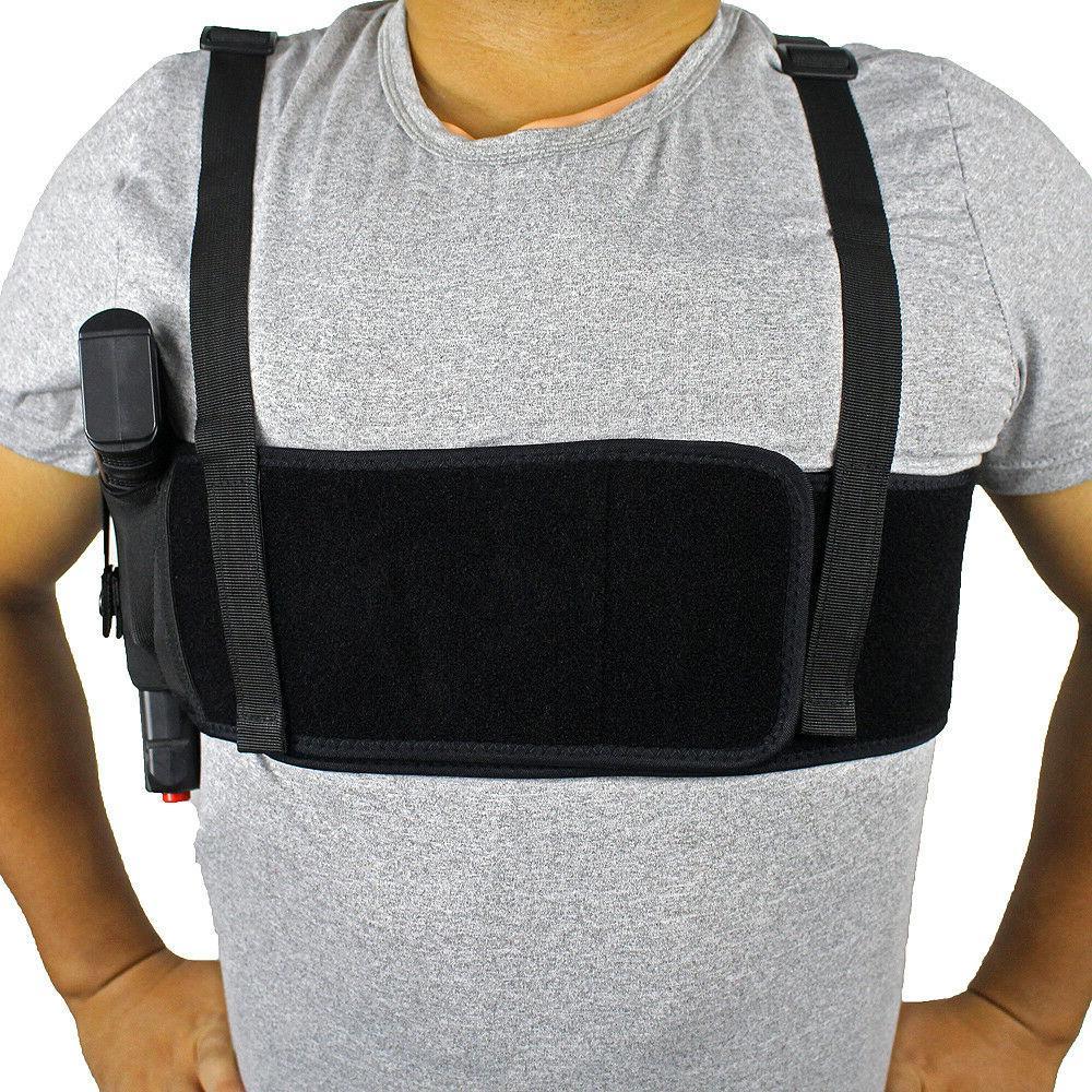 Concealed Carry Shoulder Holster Deep Concealment Chest Gun