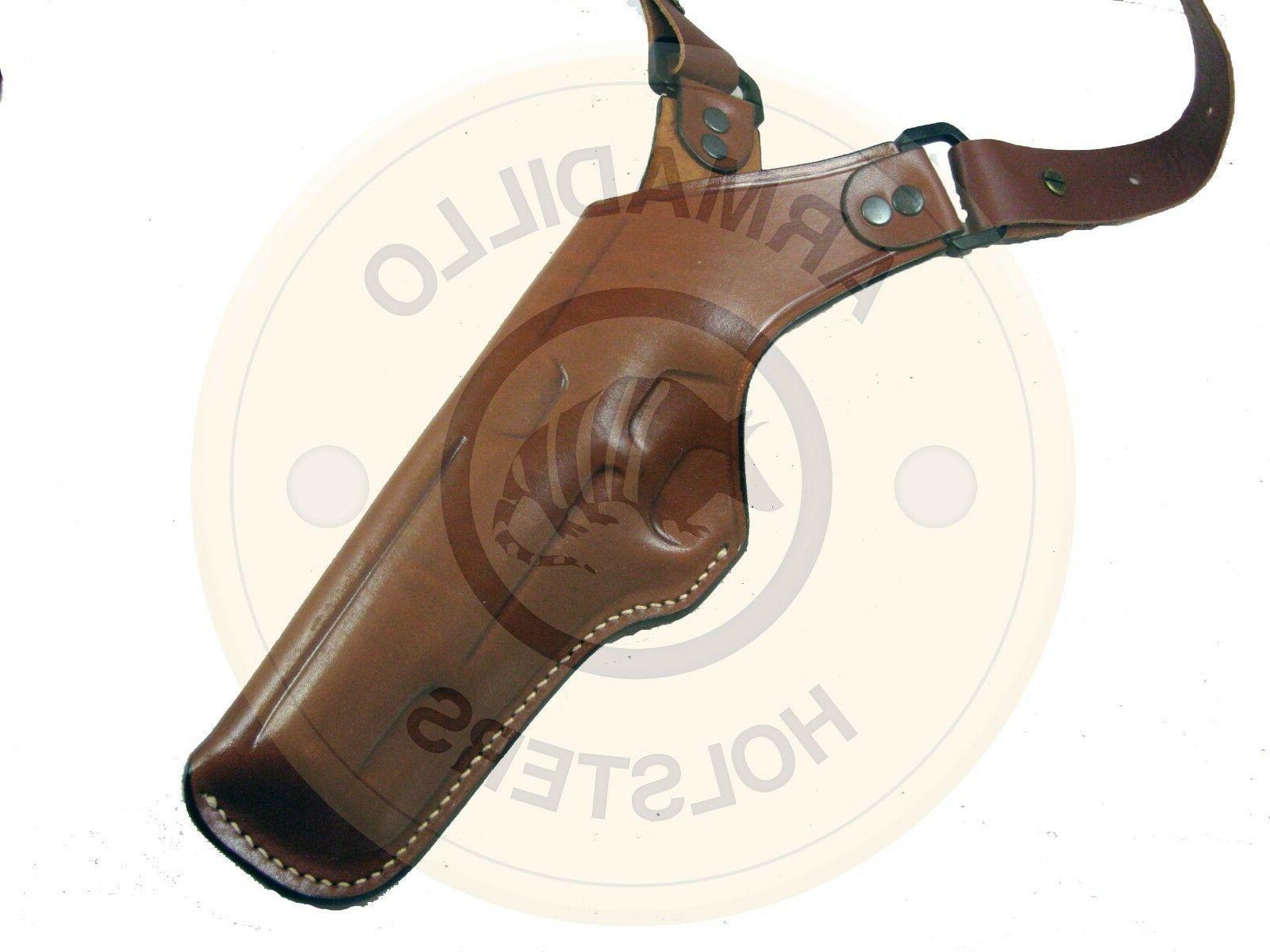Armadillo Tan Leather Shoulder for XD P2V-XD