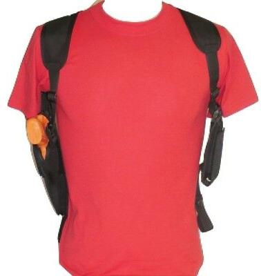vertical shoulder holster with dbl mag pouch