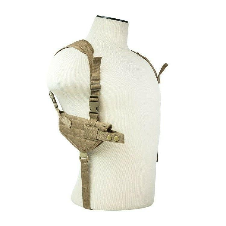 vism ambidextrous horizontal shoulder holster