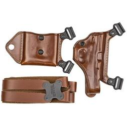 GALCO Miami Classic II Shoulder Holster, Fits Glock 43/43X,