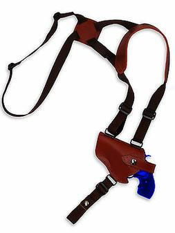 NEW Barsony Burgundy Leather Horizontal Shoulder Holster Tau