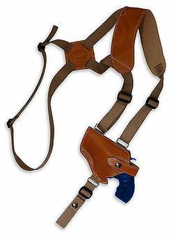 NEW Barsony Tan Leather Horizontal Shoulder Holster Taurus 2